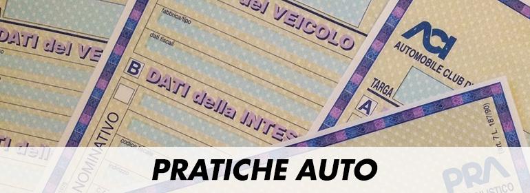 Pratiche auto a Firenze, Empoli, Pisa, Pistoia, Prato.